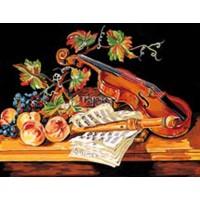 Nature morte au violon