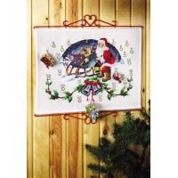 Santa Claus with sleigh