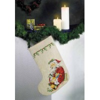 Sock with Santa Claus