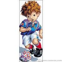 Le footballeur de Pio