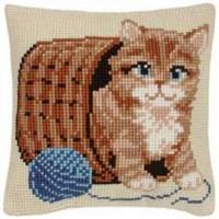 Gato con ovillo