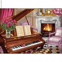 Scène de piano