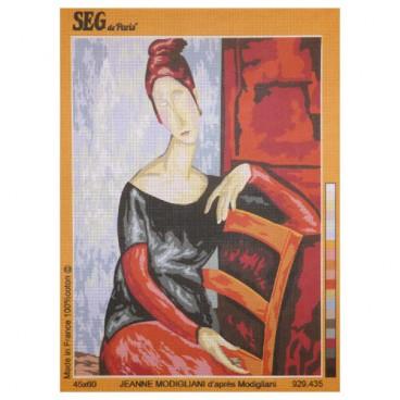 Jeanne Modigliani d'après Modigliani