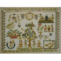 Antique Sampler 1801