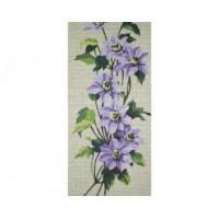 Flors violetes