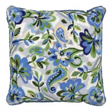 Paisley Floral i Blue
