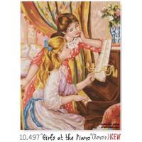 Noies al piano