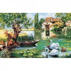 Moulin aux cygnes
