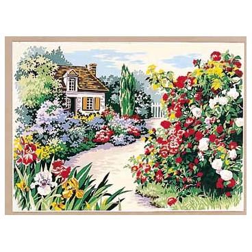 Le sentier aux roses