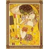 Le baiser d'après Klimt