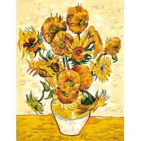 Les tournesols d'après Van Gogh
