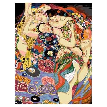La jeune fille d'après Klimt